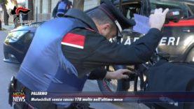 Palermo. Scooteristi senza casco e assicurazione: 178 le multe nell'ultimo mese