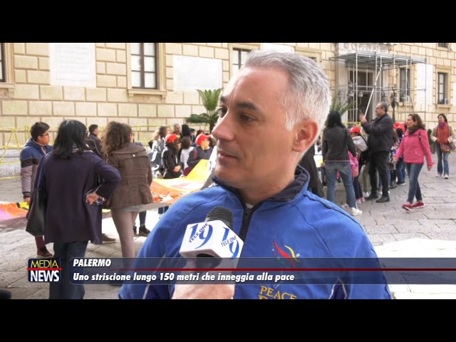 """Palermo. Stamattina la """"parata della pace"""": centinaia di bambini in corteo"""