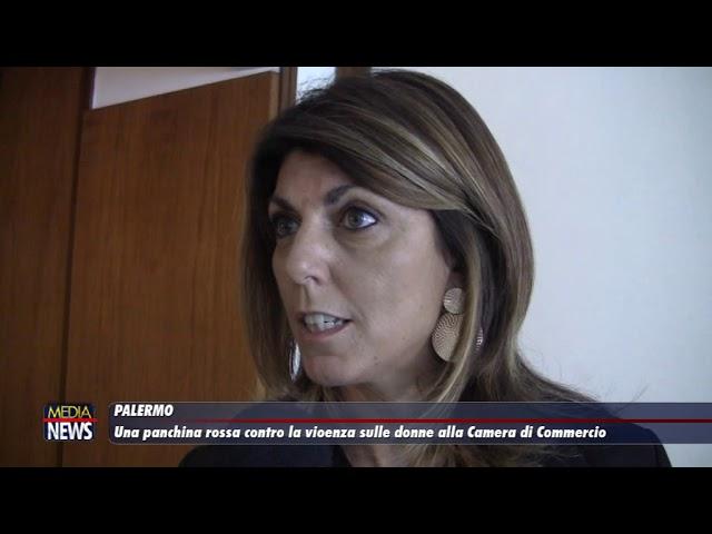 Palermo. Una panchina rossa contro la violenza sulle donne