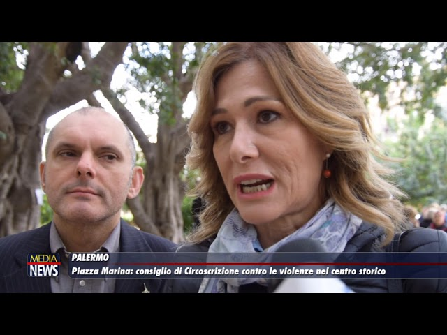 Palermo. Violenza nel centro storico. Seduta della prima circoscrizione
