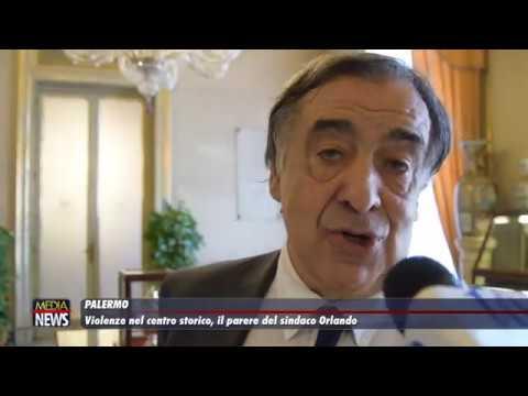 Palermo. Violenze nel centro storico, il parere del sindaco Orlando