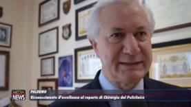 Riconoscimento d'eccellenza al reparto di Chirurgia del Policlinico di Palermo