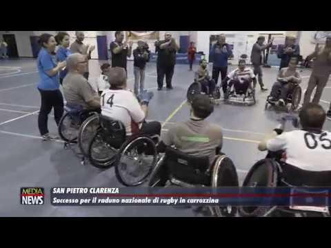 San Pietro Clarenza. Successo per il raduno nazionale di rugby in carrozzina
