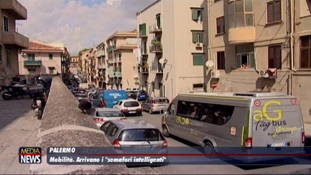 """Traffico, a Palermo arrivano 51 nuovi semafori """"intelligenti"""""""