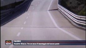 Viadotto Himera. Tra un mese il montaggio del nuovo ponte