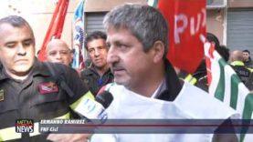 Vigili del Fuoco in protesta, scarse attenzioni alla categoria