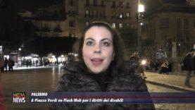 A Piazza Verdi, a Palermo, un flash mob per i disabili