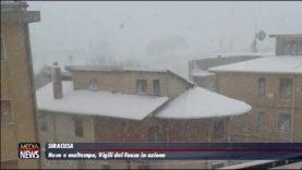 Allerta maltempo: freddo, neve e vento al Centro-Sud