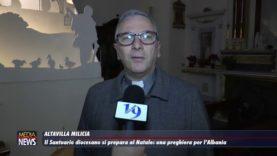 ALTAVILLA MILICIA. Il santuario diocesano si prepara al natale