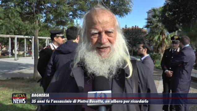 Bagheria. 35 anni fa l'assassinio di Pietro Busetta, un albero per ricordarlo