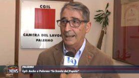 """Cgil. Anche a Palermo """"La Scuola del Popolo"""""""