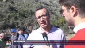 Consegnato riconoscimento ai lavoratori forestali impegnati nella bonifica della diga Jato