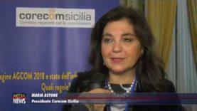 """Corecom. """"Indagine AgCom 2018 e stato dell'informazione in Sicilia. Quali regole?"""""""