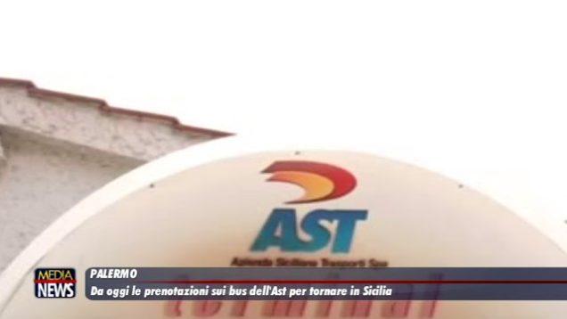 Da oggi le prenotazioni sui bus dell'Ast per tornare in Sicilia