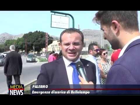 Emergenza discarica di Bellolampo