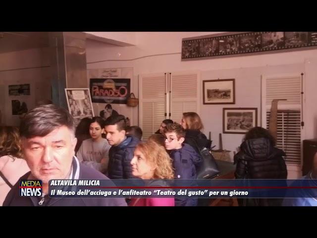 """Il Museo dell'Acciuga e l'anfiteatro comunale """"Teatro del gusto"""" per un giorno"""