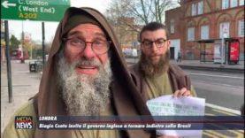 L'appello di Biagio Conte al governo inglese
