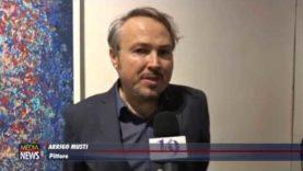 L'artista Arrigo Musti torna nella sua Bagheria: opere in mostra al Museo Guttuso