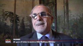 Palermo. 80 opere di Cutino in mostra a Villa Malfitano Whitaker