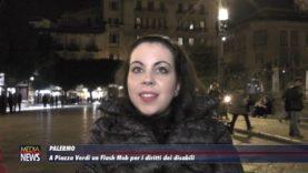 Palermo.A Piazza Verdi un flash mob per i diritti dei disabili