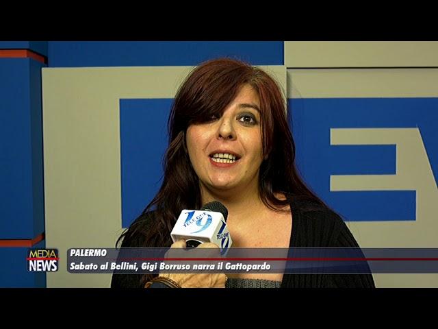 Palermo: Al Bellini Gigi Borruso narra il Gattopardo