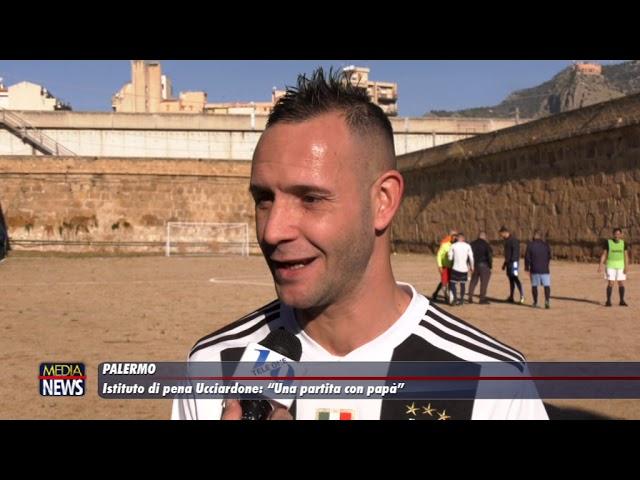 """Palermo. All'Ucciardone """"Una partita con papà"""""""