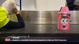 Palermo. Bambole e orsacchiotti smarriti in aeroporto su un video per farli riconoscere