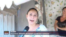 Palermo: Borgo Nuovo, ultimatum alle famiglie sgomberate le abitazioni