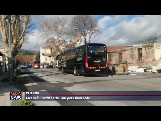 Palermo. Bus contro il caro voli, partiti i primi mezzi per Milano e Roma