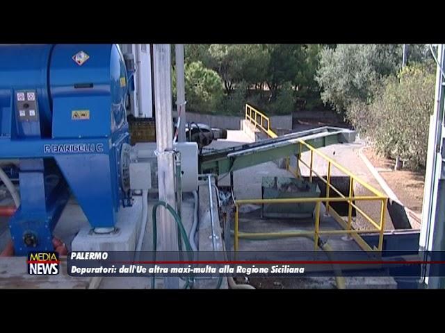 Palermo. Depuratori: dall'Ue altra maxi-multa alla Regione siciliana