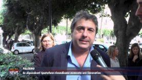 Palermo: Ex dipendenti Spatafora rivendica aumento ore lavorative