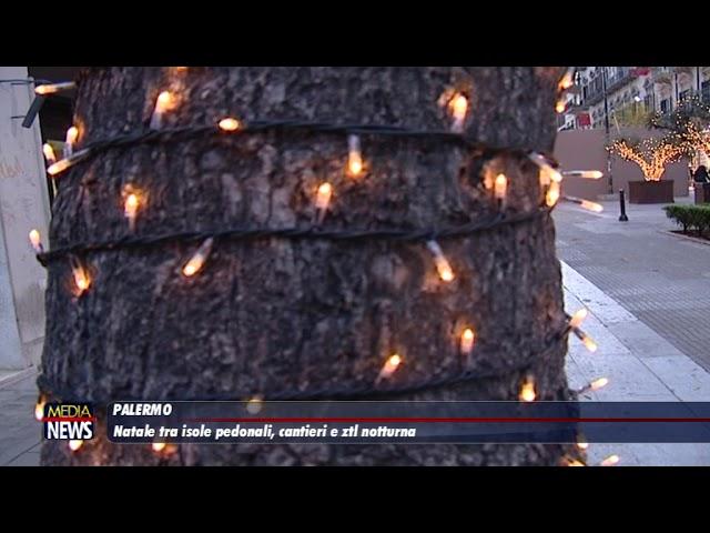 Palermo. Natale tra isole pedonali, cantieri e ztl notturna
