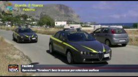 """Palermo. Operazione """"Terminus"""": boss in carcere per estorsione mafiosa."""