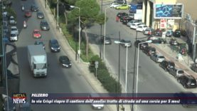 Palermo. Riapre il cantiere dell'anello ferroviario in via Crispi