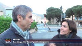 Palermo: Sopralluogo della RAP nel quartiere Borgonuovo