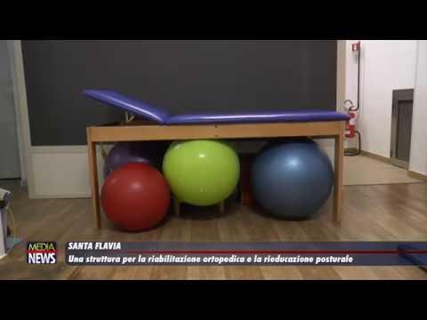Santa Flavia.Una struttura per riabilitazione ortopedica e rieducazione posturale