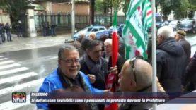 Si definiscono invisibili: pensionati in protesta contro il Governo