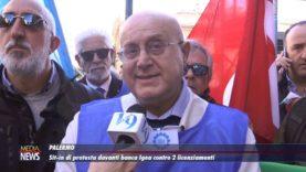 A Palermo, sit-in di protesta contro i licenziamenti di Banca Igea