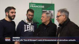 """Bagheria. Don Ciotti in visita alla """"Casa di Giuseppe"""""""