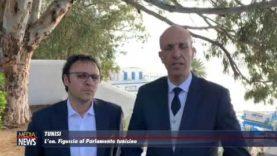 Il deputato regionale Vincenzo Figuccia al Parlamento tunisino