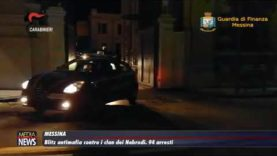 Messina. Blitz antimafia contro i clan dei Nebrodi. 94 arresti