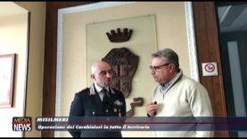 Misilmeri: Operazione dei Carabinieri in tutto il territorio
