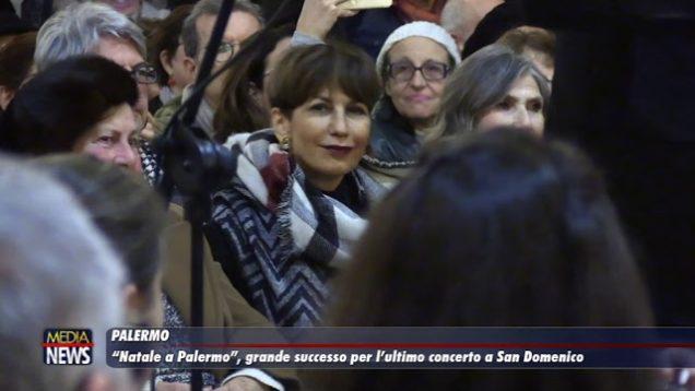 """""""Natale a Palermo"""", grande successo per l'ultimo concerto a San Domenico"""