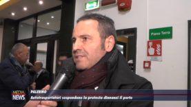 Palermo. Autotrasportatori sospendono la protesta dinnanzi il porto