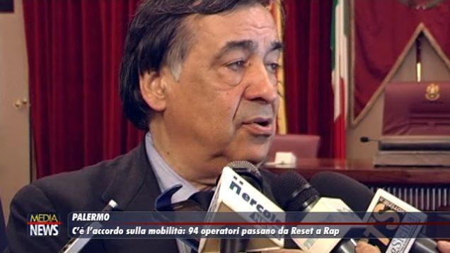 Palermo. C'è l'accordo sulla mobilità: 94 operatori passano da Reset a Rap