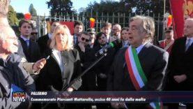 Palermo. Commemorato Piersanti Mattarella, assassinato 40 anni fa