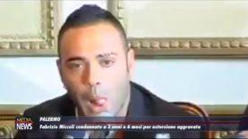 Palermo. Fabrizio Miccoli condannato a 3 anni e 6 mesi per estorsione aggravata