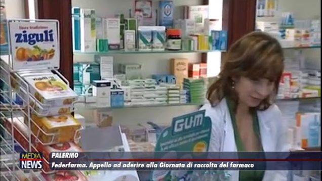 Palermo. Federfarma. Appello ad aderire alla Giornata di raccolta del farmaco