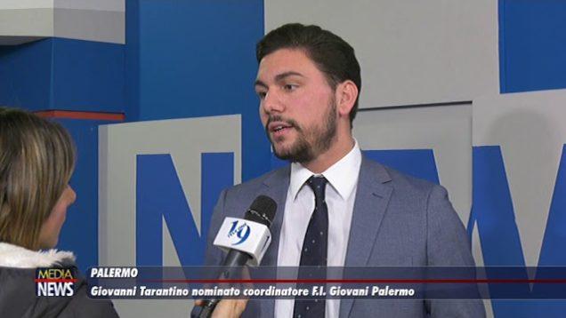 Palermo. Giovanni Tarantino nuovo coordinatore di Forza Italia Giovani