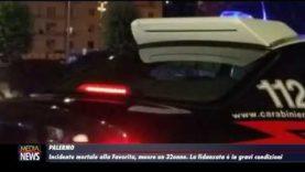 Palermo. Incidente mortale alla Favorita. Muore un 32 enne